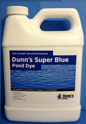 Dunn's Super Blue Pond Dye - DSBPD - POND DYES Dunn's Super Blue Pond Dye