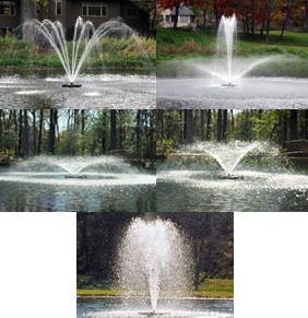 KASCO 3400/HJF LAKE FOUNTAIN -  3/4HP - 220V F3400/HJF - KASCO 220 VOLT UNITS