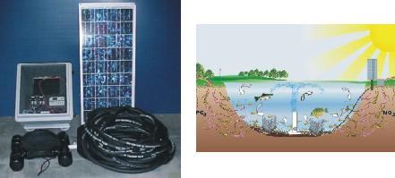 Solar Pond Aerator Solaer Sb2 Dunns Fish Farm