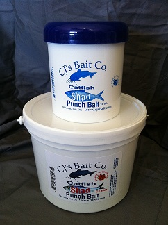 SHAD PUNCH BAIT - SPB - CJ'S CATFISH BAIT SHAD PUNCH BAIT