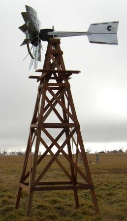 DELUXE WOODEN WINDMILL - DLXWWM - 20 FOOT PACKAGE DELUXE WOODEN WINDMILL